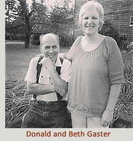 Donald and Beth Gaster